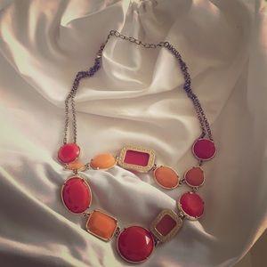 Francesca's Coral Necklace